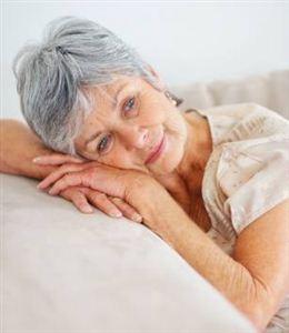 Il riposo di una persona anziana